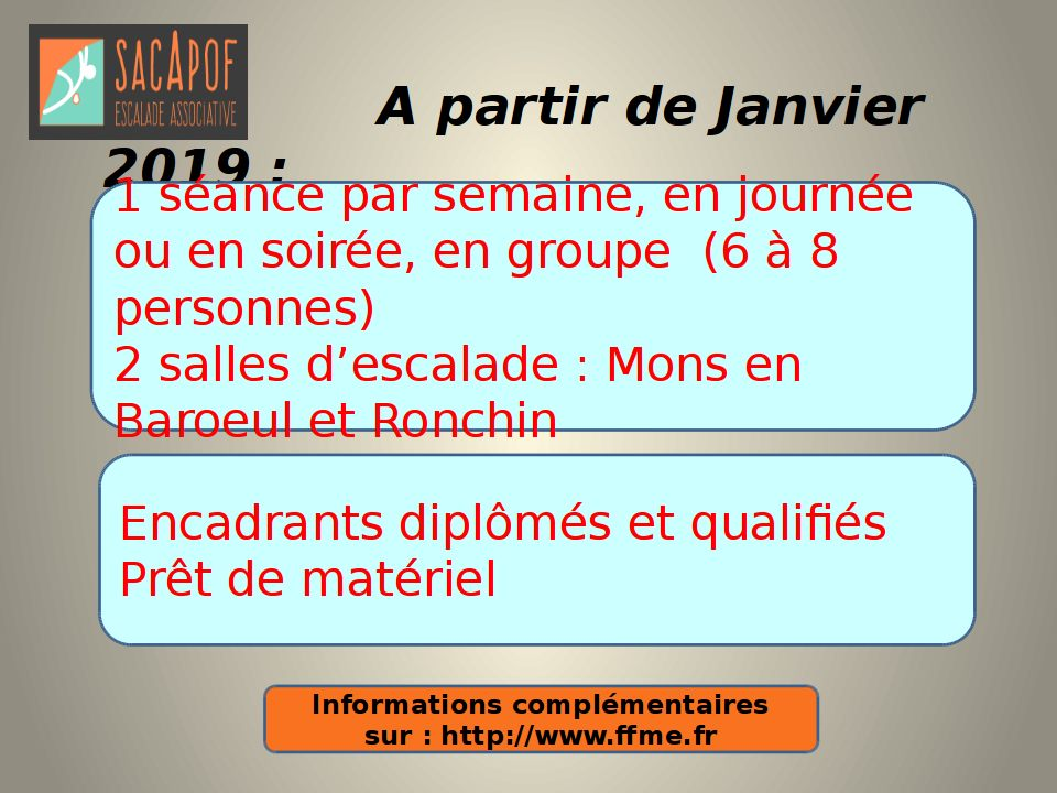 FLYER escalade 11 2018-2